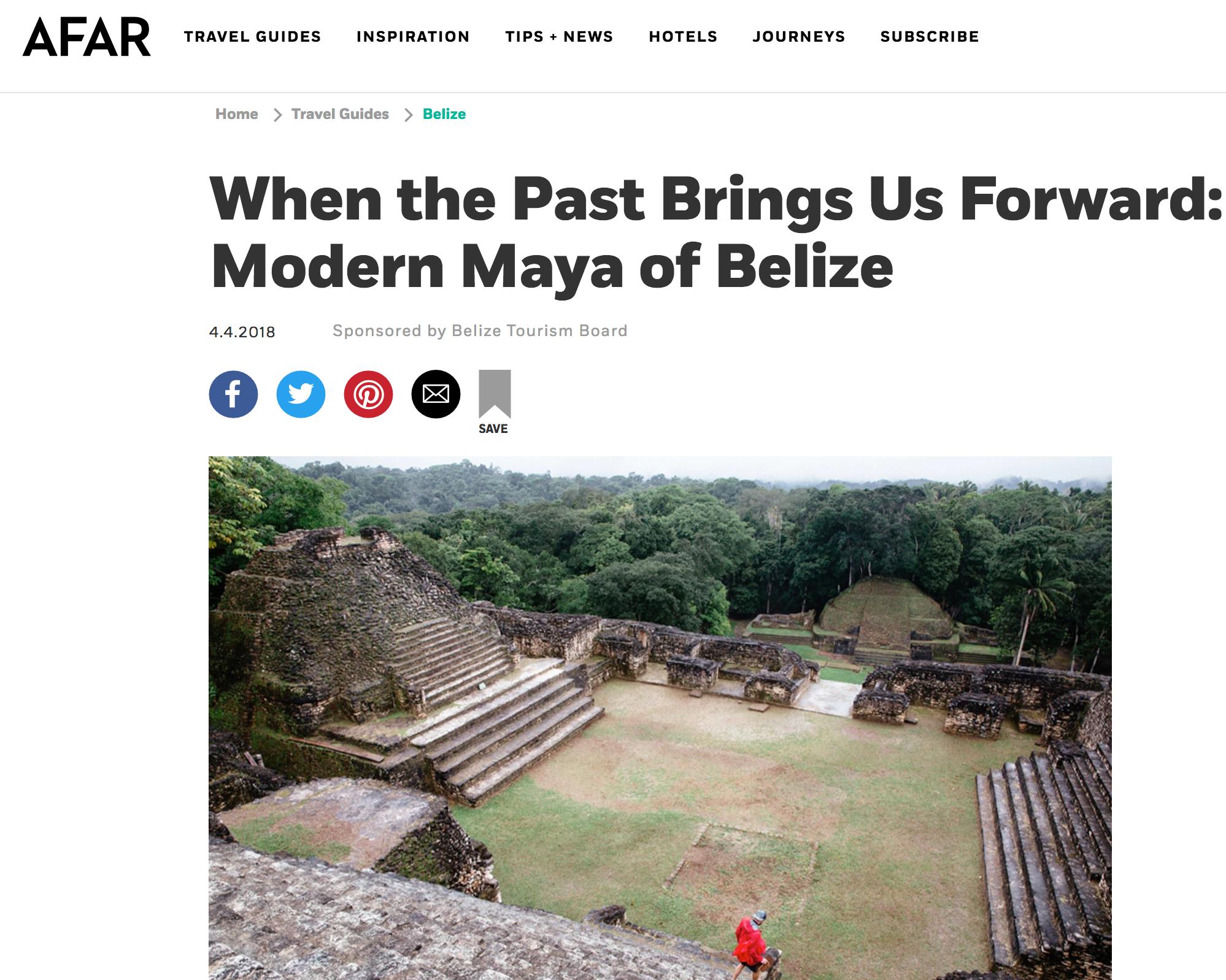 AFAR Belize