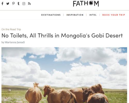 Fathom Mongolia