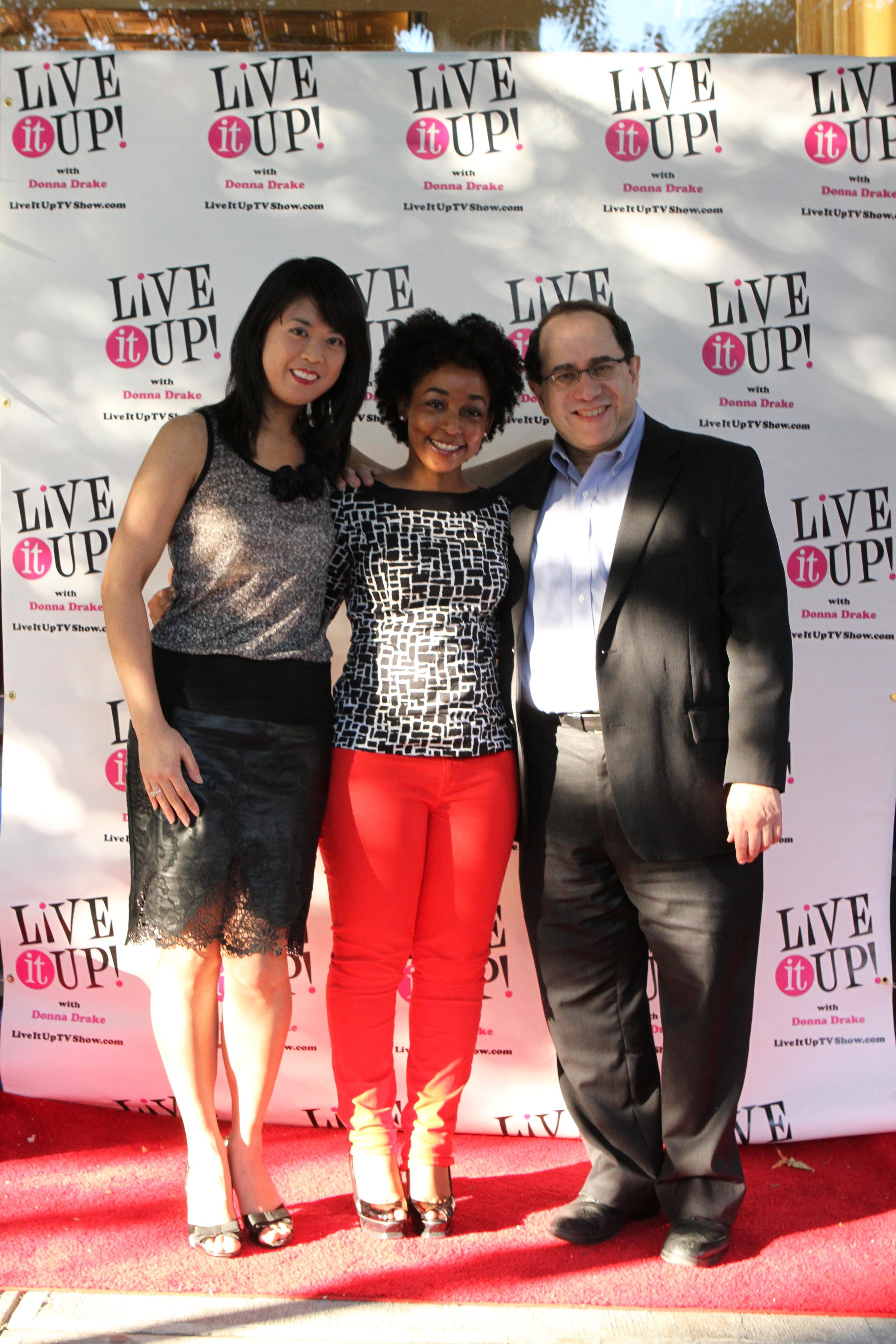 Photo credit:  Maggie Law  ( Felicia Lin ,  Jami Jackson , Victor Scott Rodriguez)