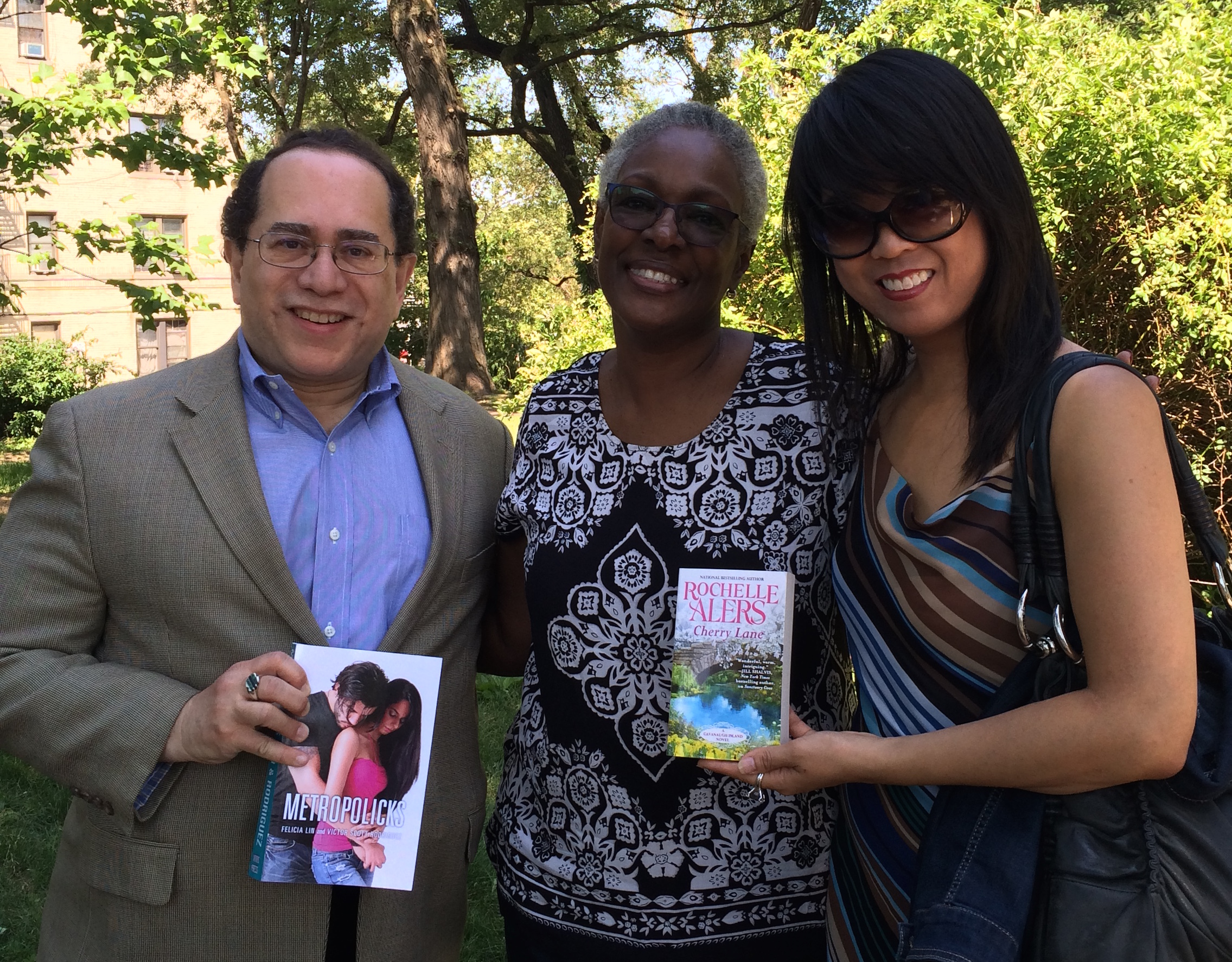 Victor Scott Rodriguez, Rochelle Alers and Felicia Lin