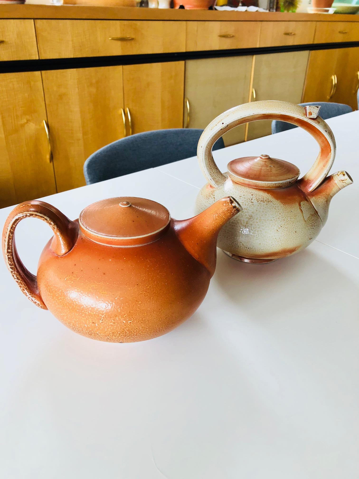Teapots by Tyler Gulden