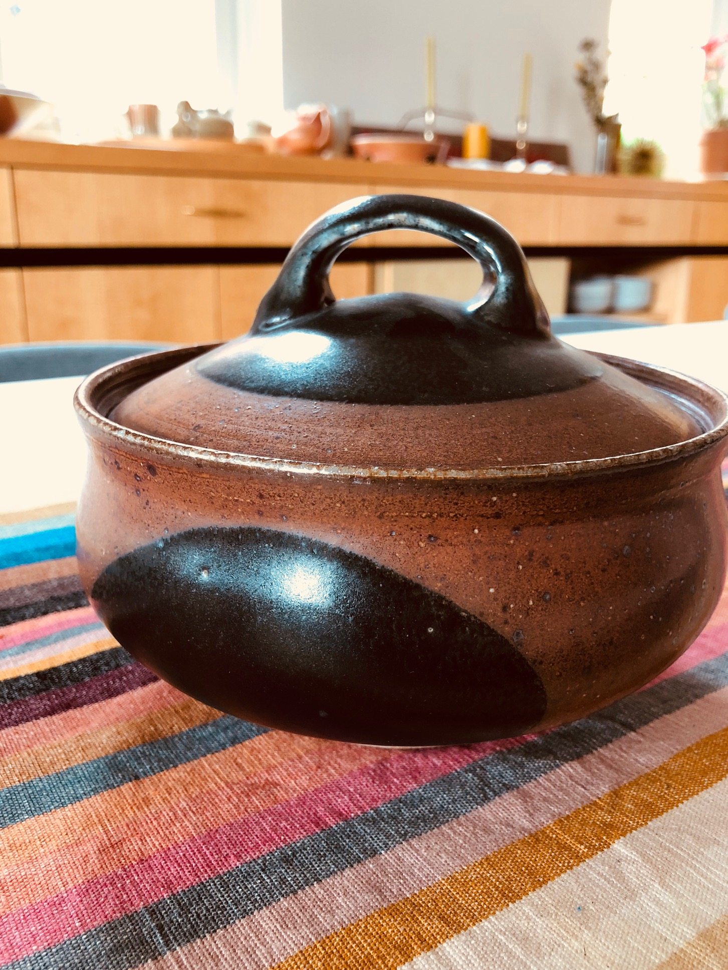 Covered Bowl by Tyler Gulden