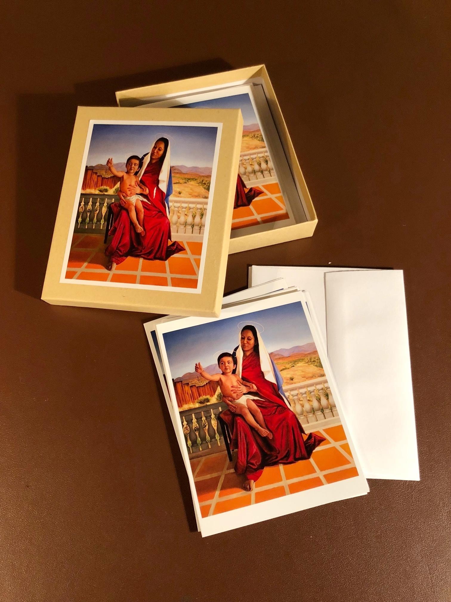 Madonna and Child Card Set