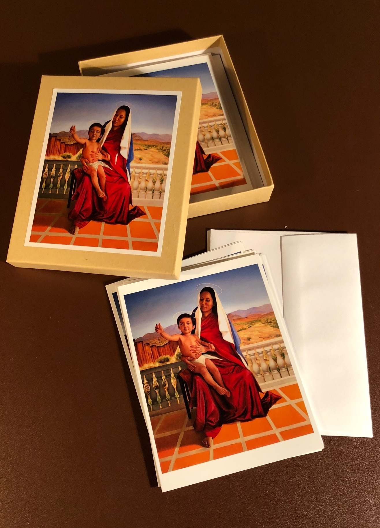 Madonna and Child Card Set by John Britton