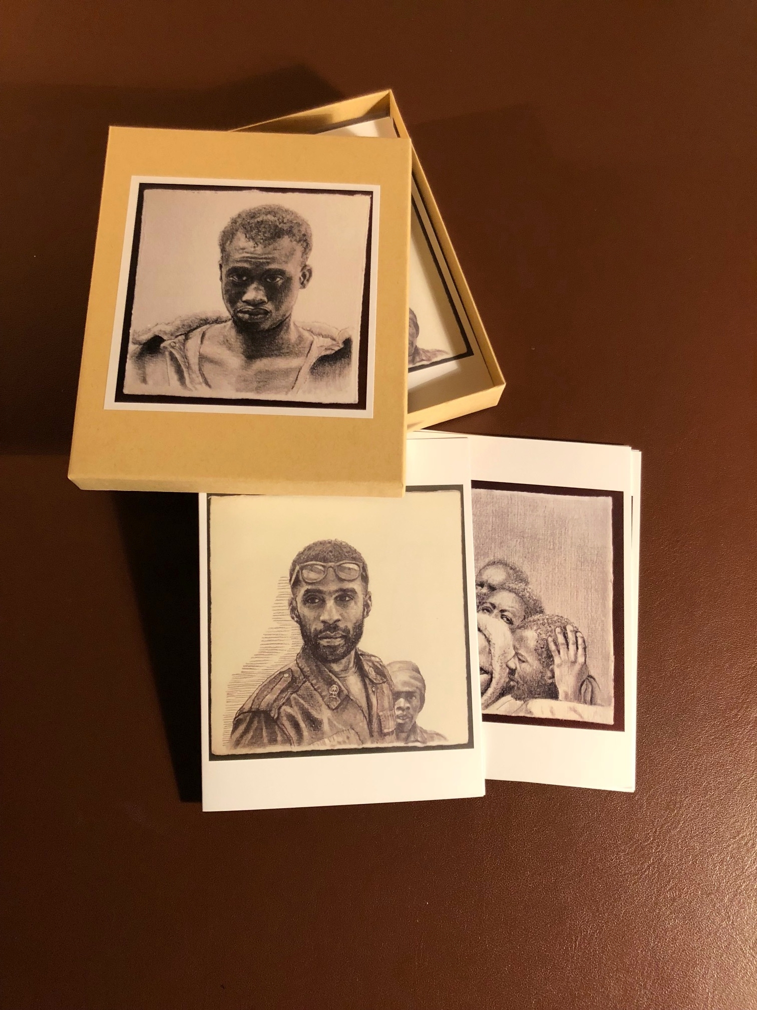 Migrant Drawings Card Set by John Britton