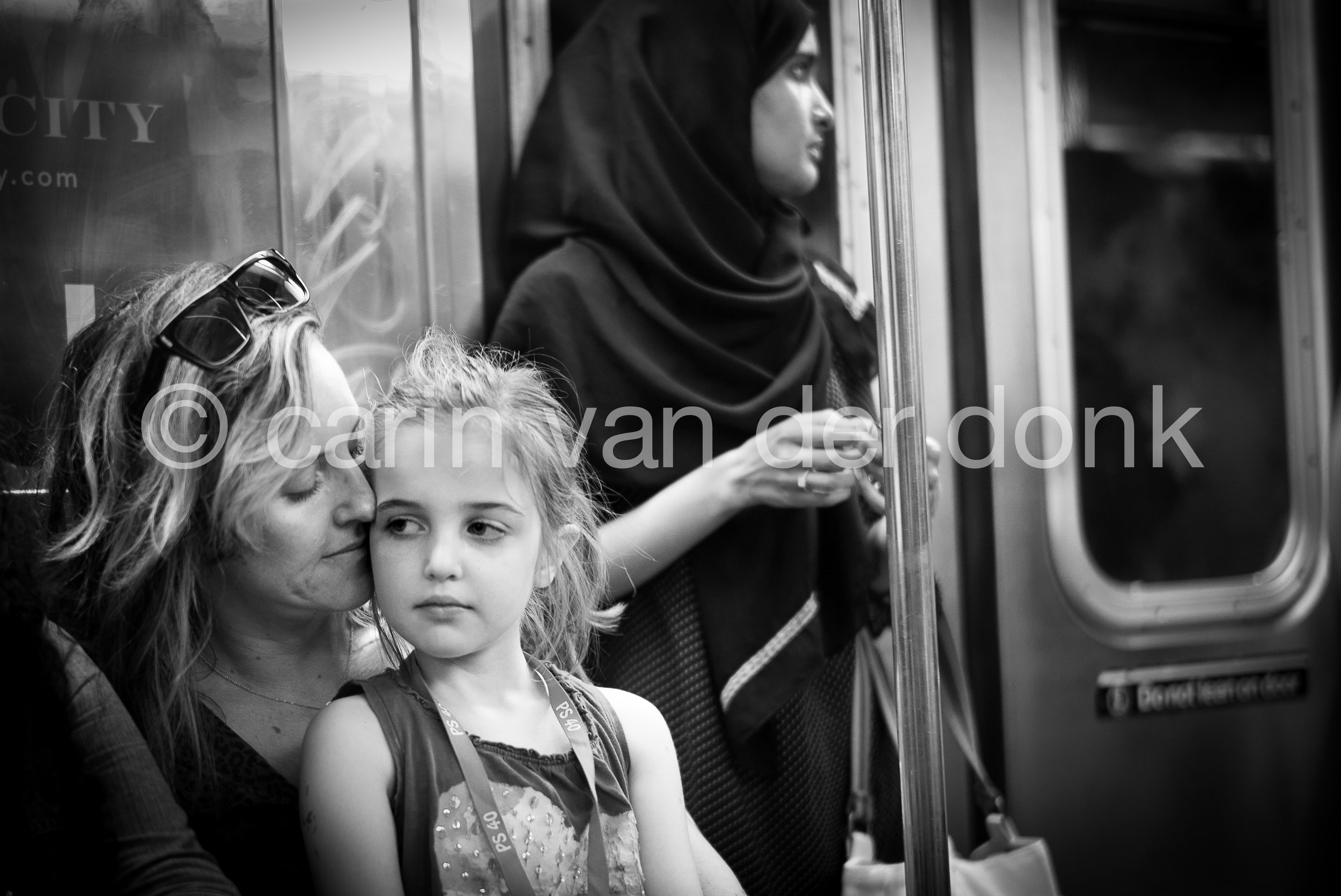 "NYC Subway, 2016 8"" x 12"""