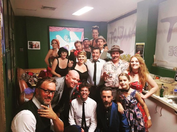 The Little Egypt's Speakeasy cast. Each and every one a boss at what they do and super vibey in the show.