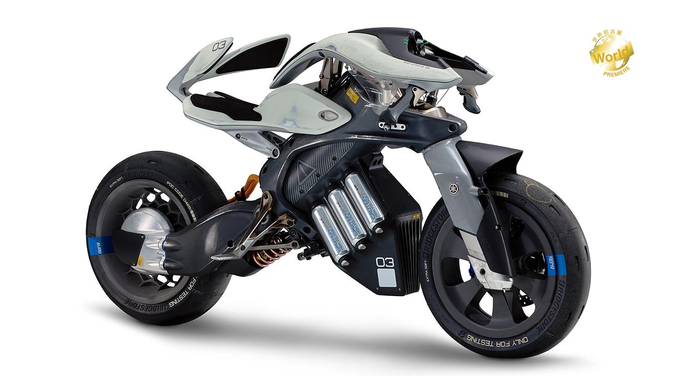 The MOTOROiD, as shown on the Yamaha website.