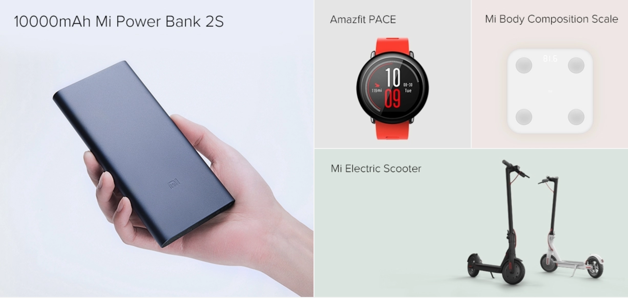 Xiaomi's products, rising in global popularity