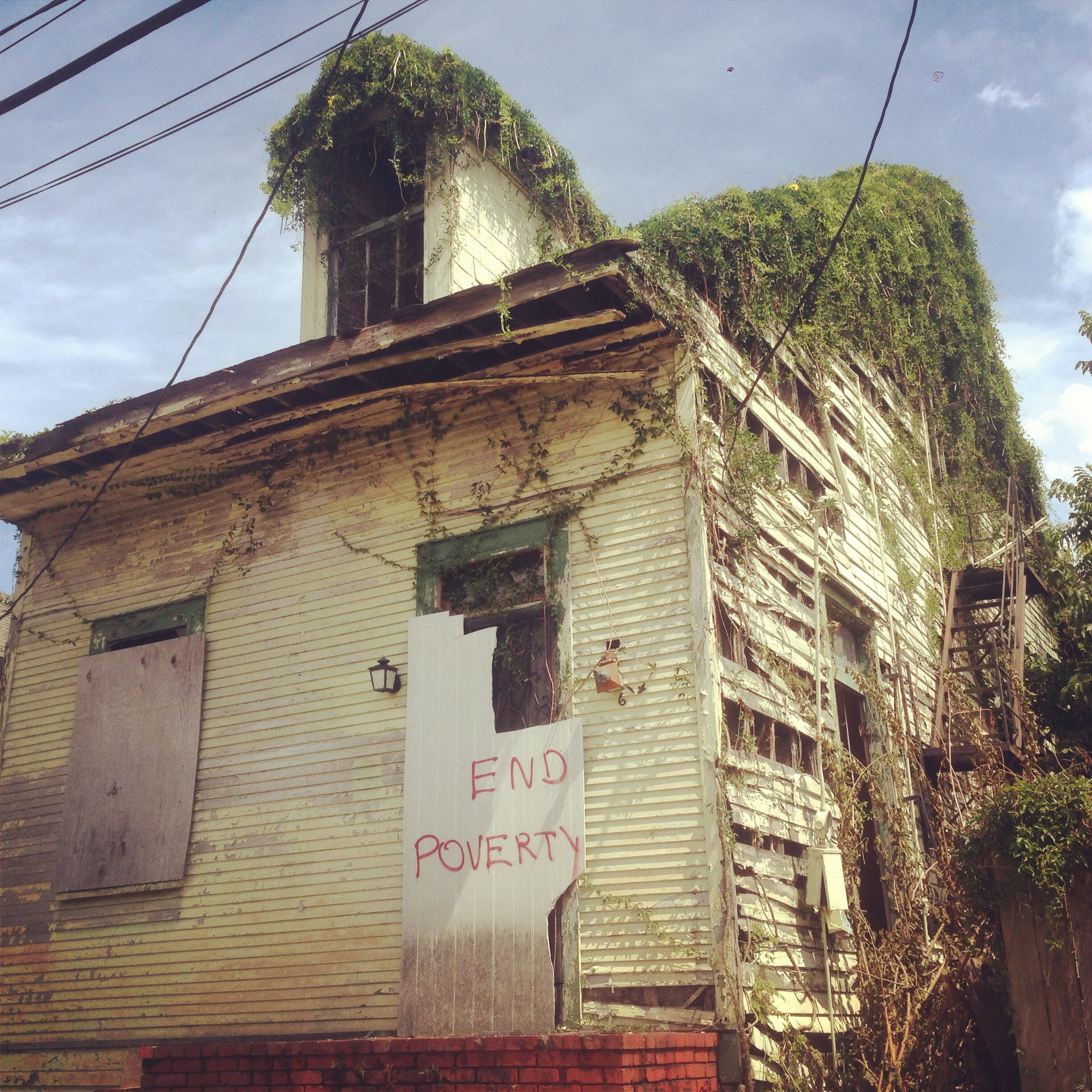 An abandoned house in Treme