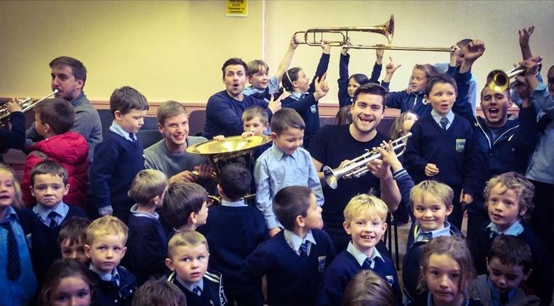 London Chamber Brass workshops in Country Cork, Ireland