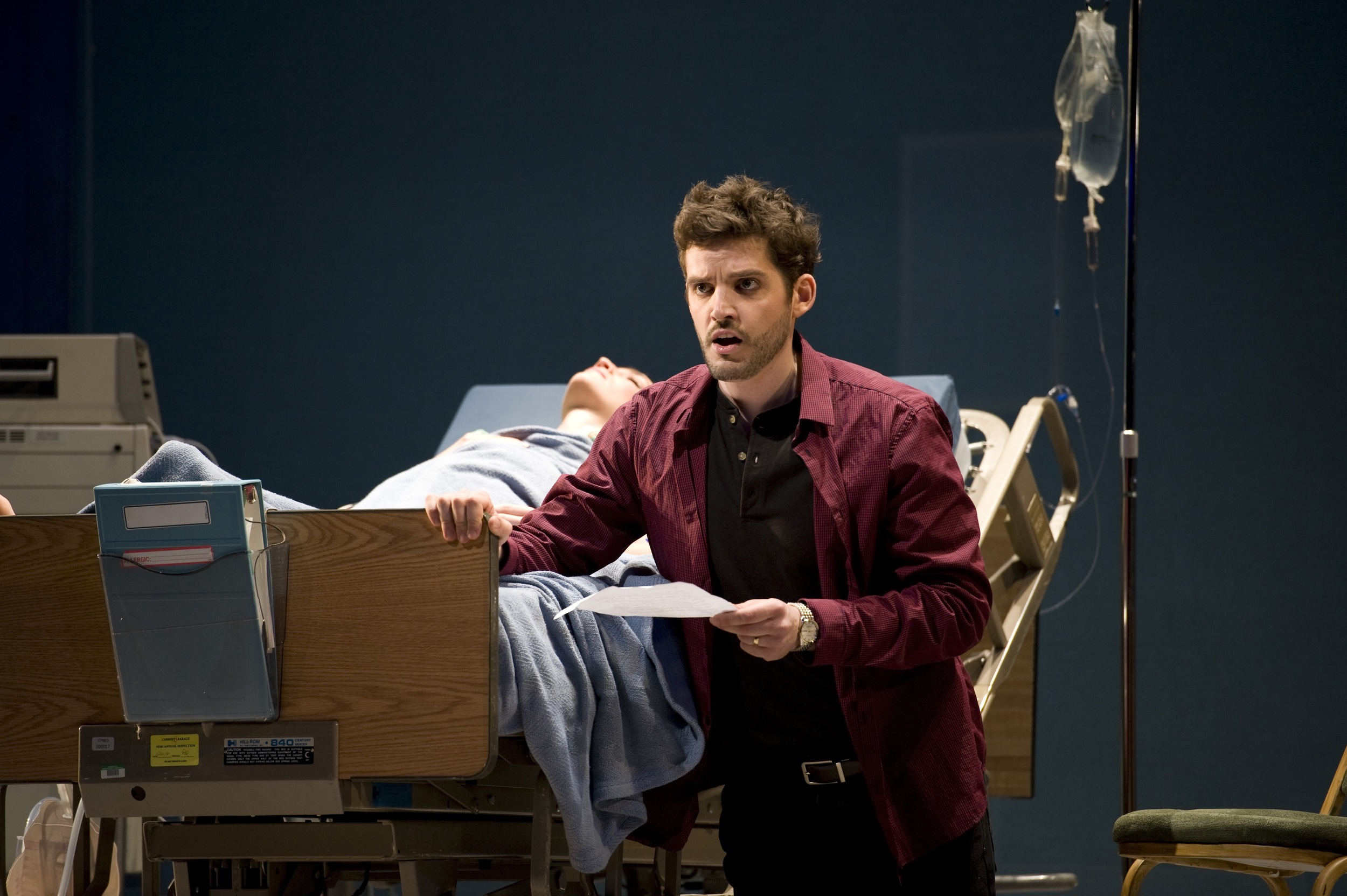 Seattle Opera production of <i>Amelia</i>; photo by Rozarii Lynch