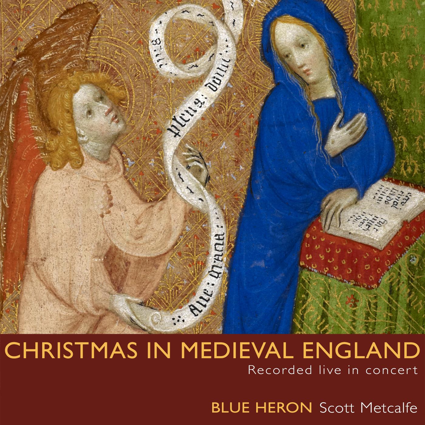 Blue Heron | Christmas in Medieval England