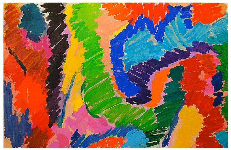 """""""Tip Top"""" 2014, acrylic on canvas: 171cm x 266cm"""