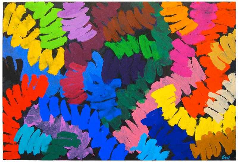 """Stop the Traffic"" 2014,acrylic on canvas: 170cm x 246cm"