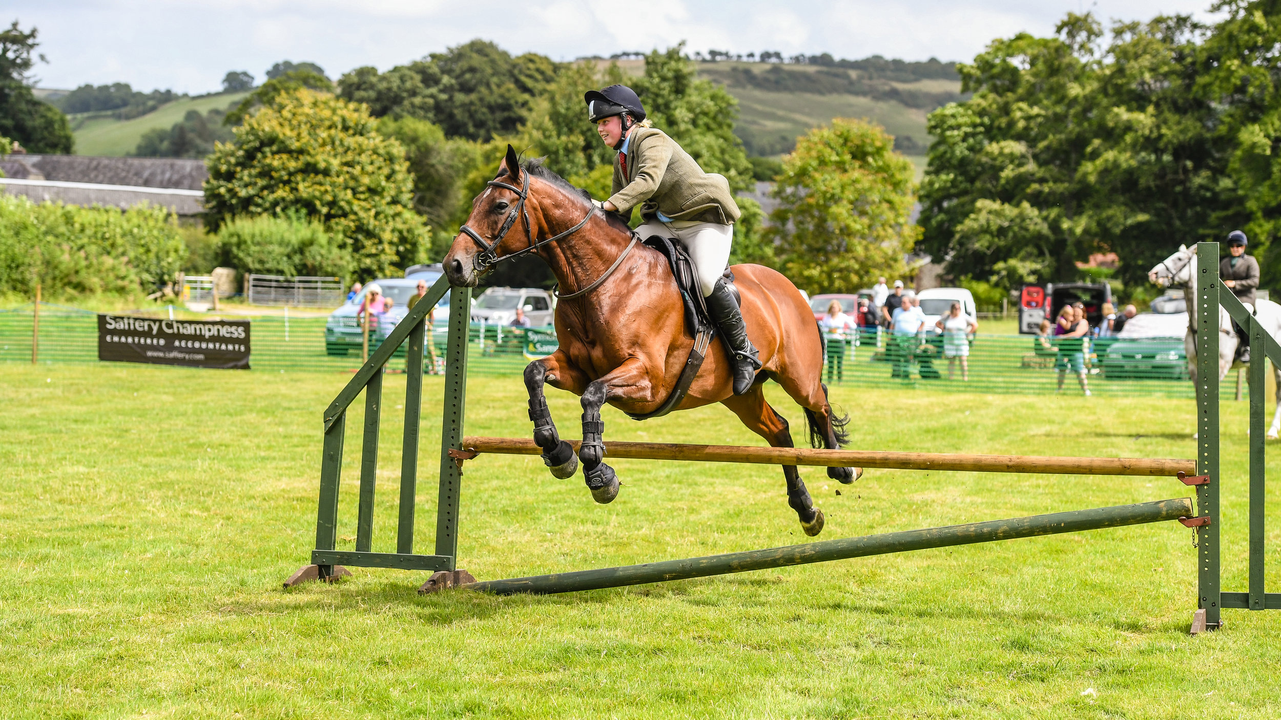 Daisy Whitfield in the exciting Boden Challenge