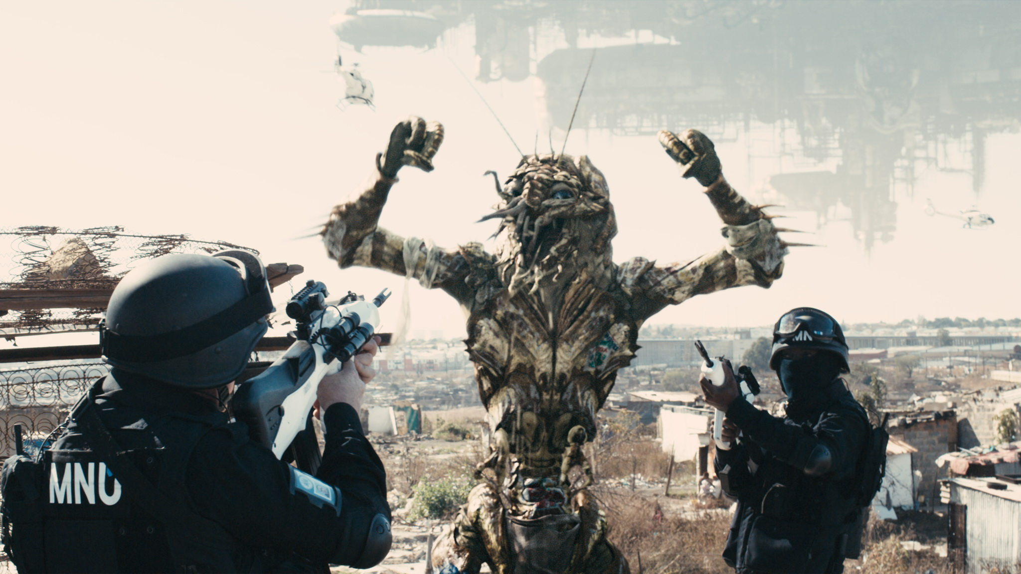 Refuge aliens landing in  District 9  may not be greeted with the same hospitality as Vulcans..