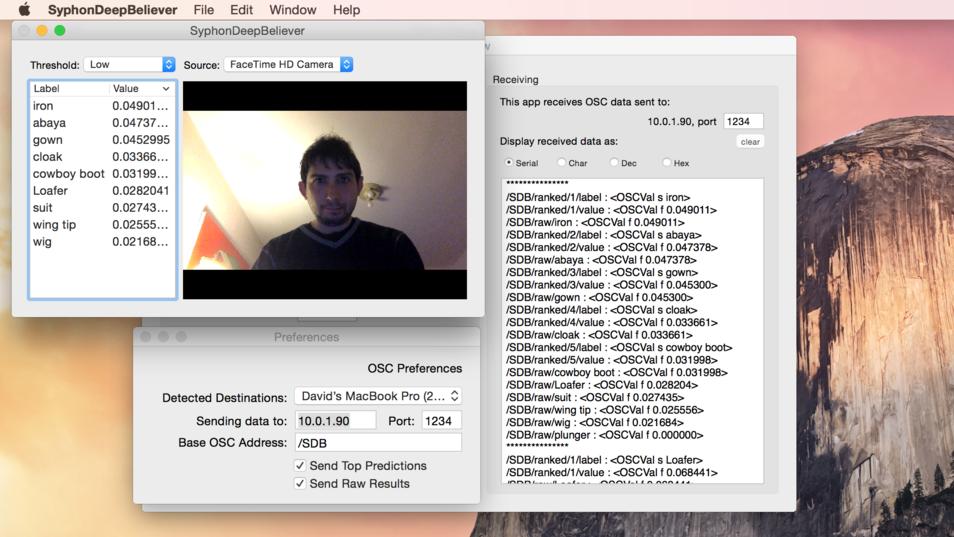 Works with regular webcam inputs.