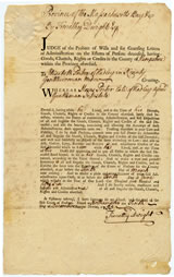 Moses Porter's probate