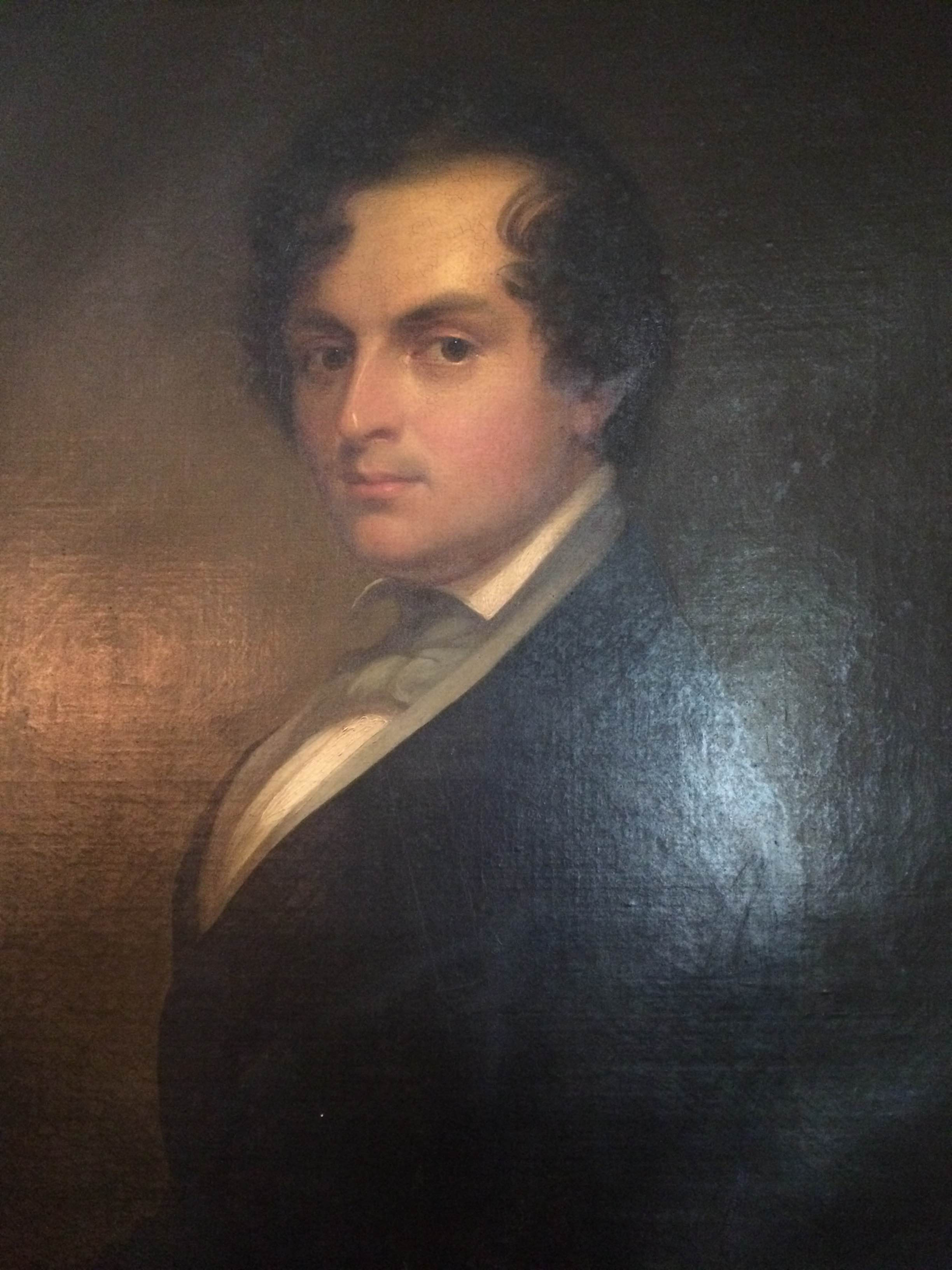 Portrait of Epes Sargent by Chester A. Harding dating from 1830-40.