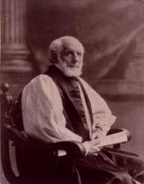 Frederic Dan Huntington, Bishop.