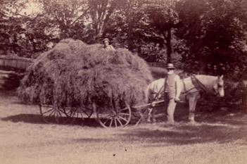 Frederic Dan Huntington, farmer.