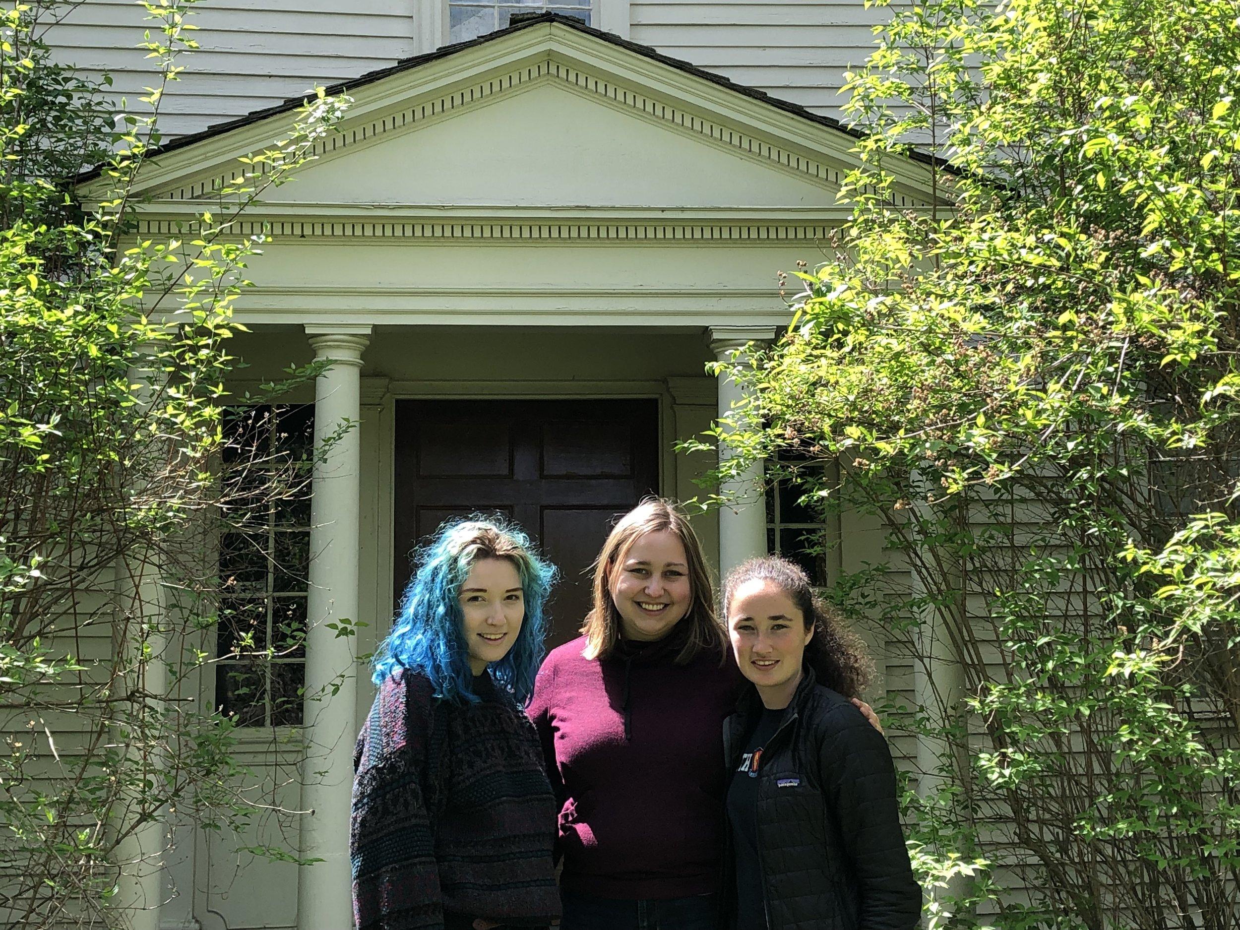 Left to right: Veronica Douglas, Lily Stowe-Alekman, Caroline Smith.