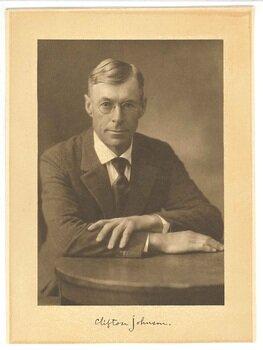 Clifton Johnson, 1918 (age 53)