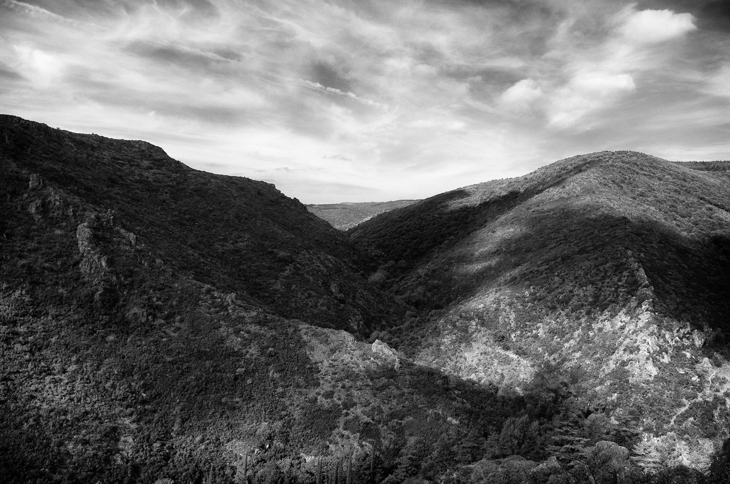 Hills. Lastours