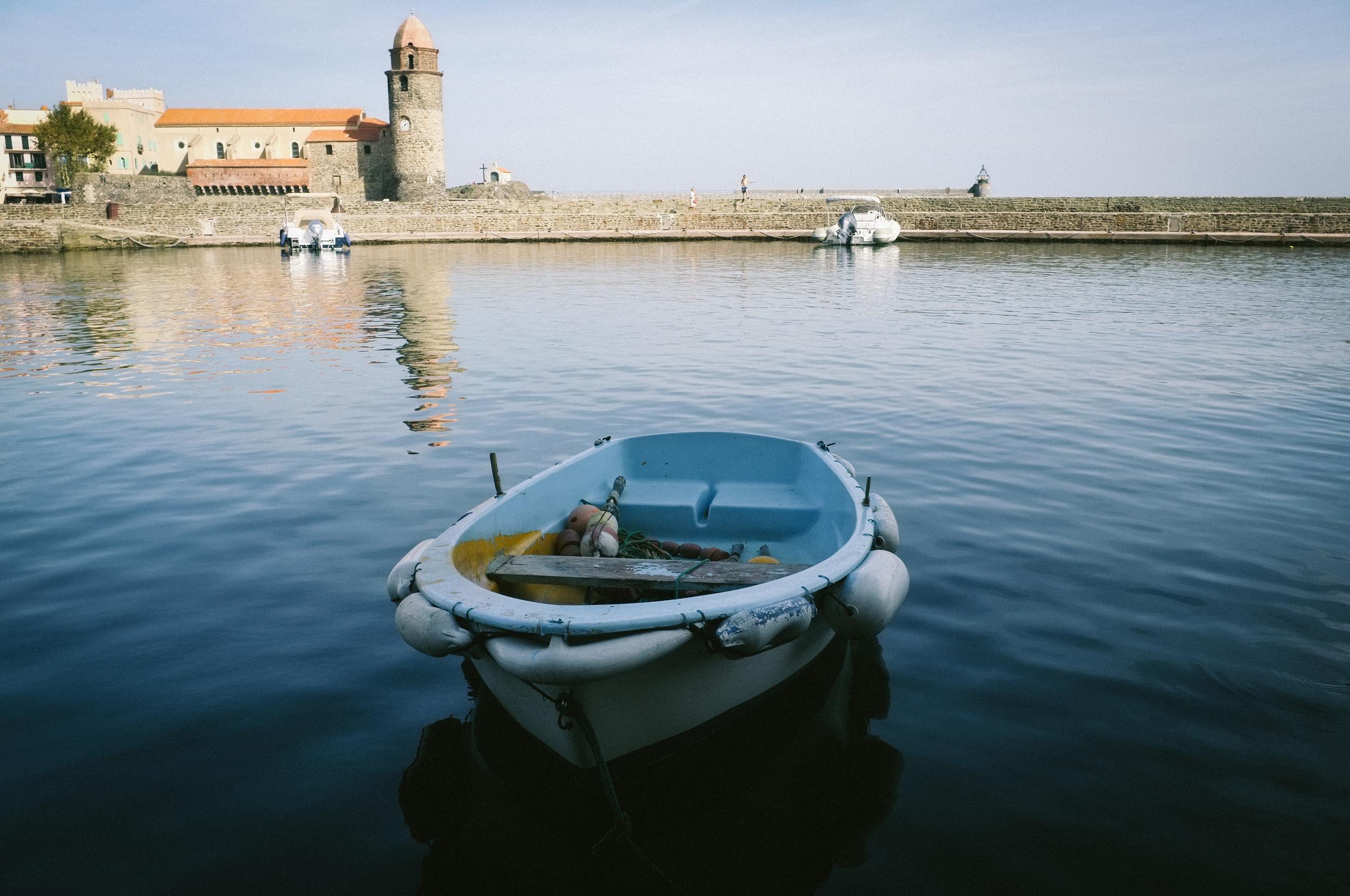 Boat. Collioure