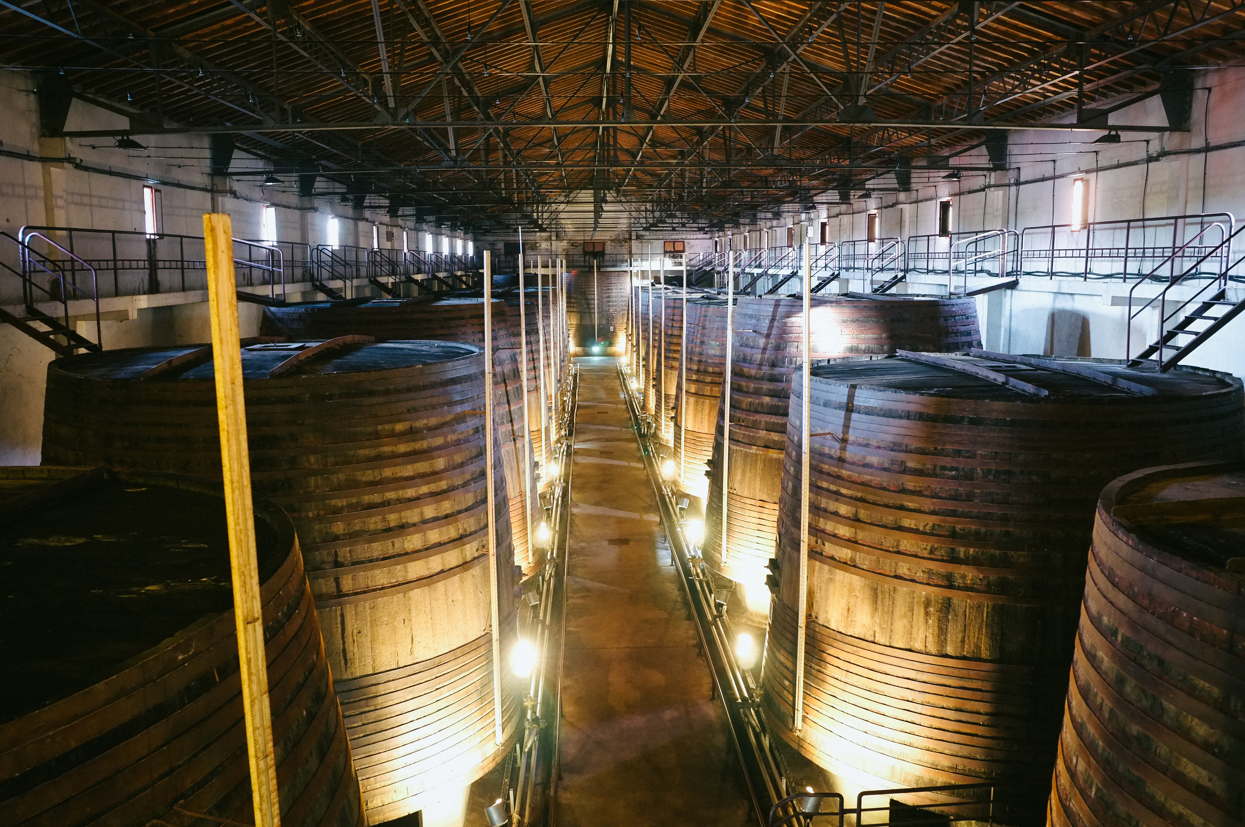 Banyuls aging. And aging. And...