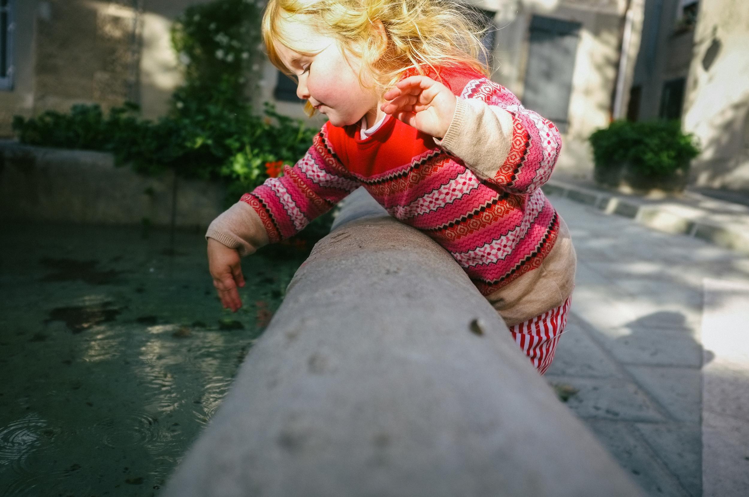 Fountain. Villeneuve-Minervois