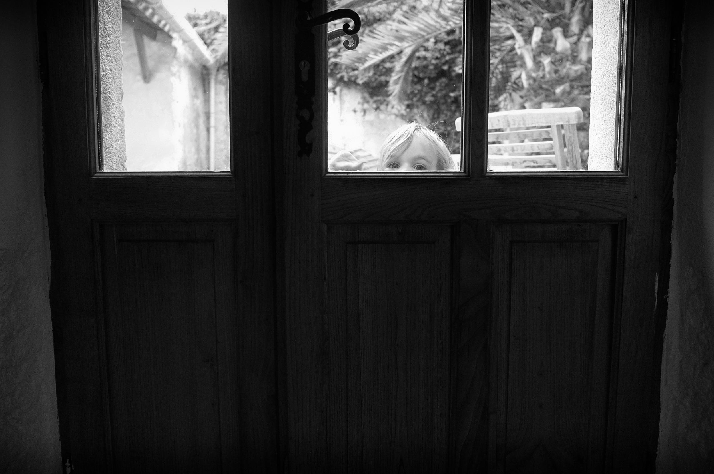 Front door Open, closed, open, closed. Villeneuve-Minervois