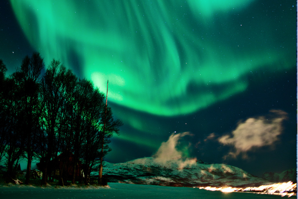how to take pictures of northern lights