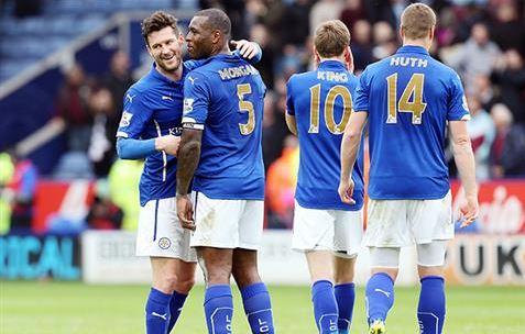 Nugent respiró aliviado tras la victoria (Fotografía: Leicester City)