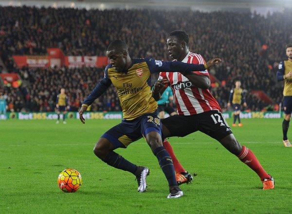 Joel Campbell   Fotografía: Arsenal FC
