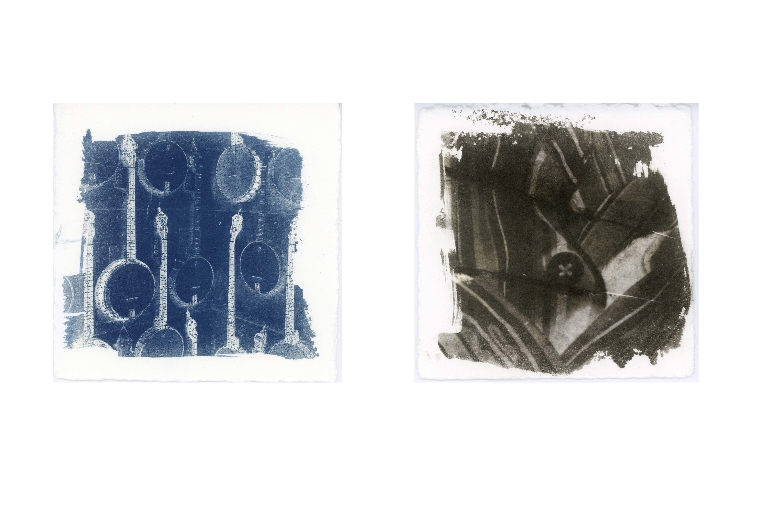 Americana , 2015, © Jennifer R. Myhre, cyanotype and Van Dyke brown