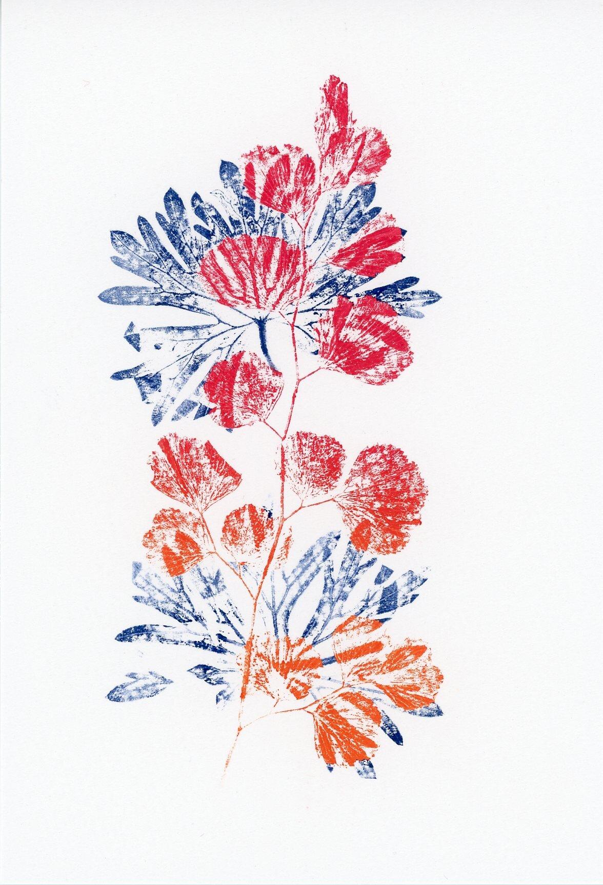 Botanical 2019, monotype