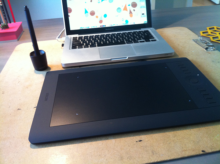 New Wacom tablet has been awesome!
