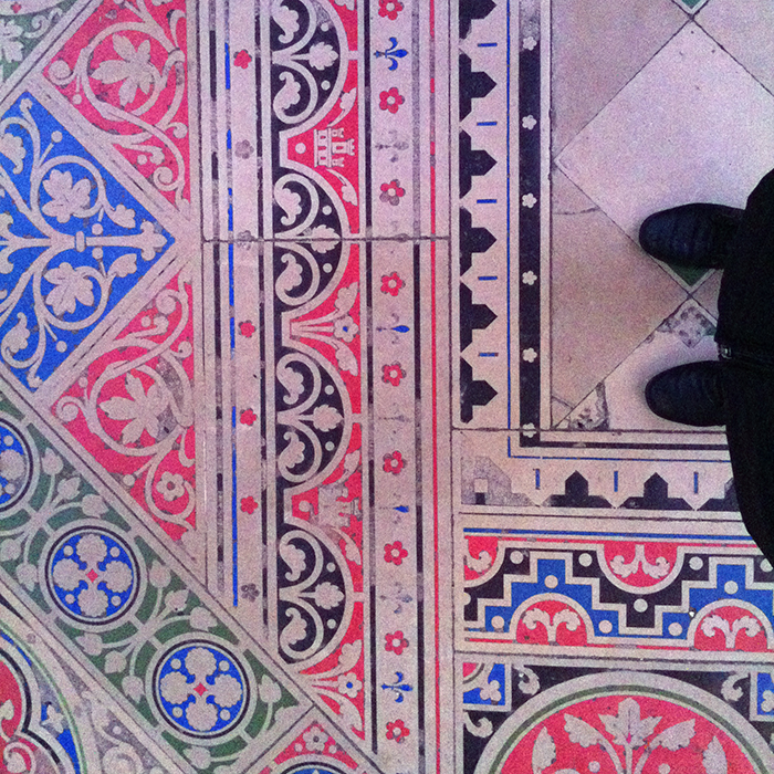 Floor at Saint Chapelle