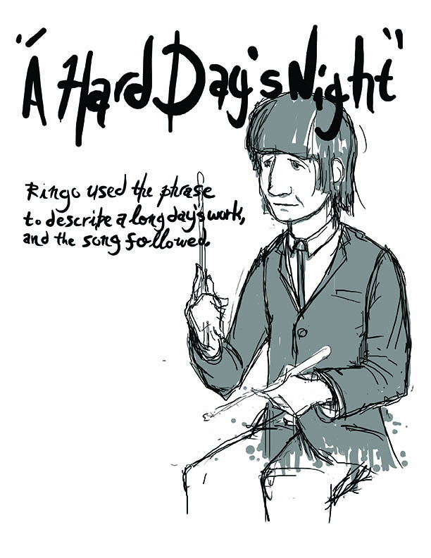 Ringo, A Hard Day's Night (selection from unpublished book project)