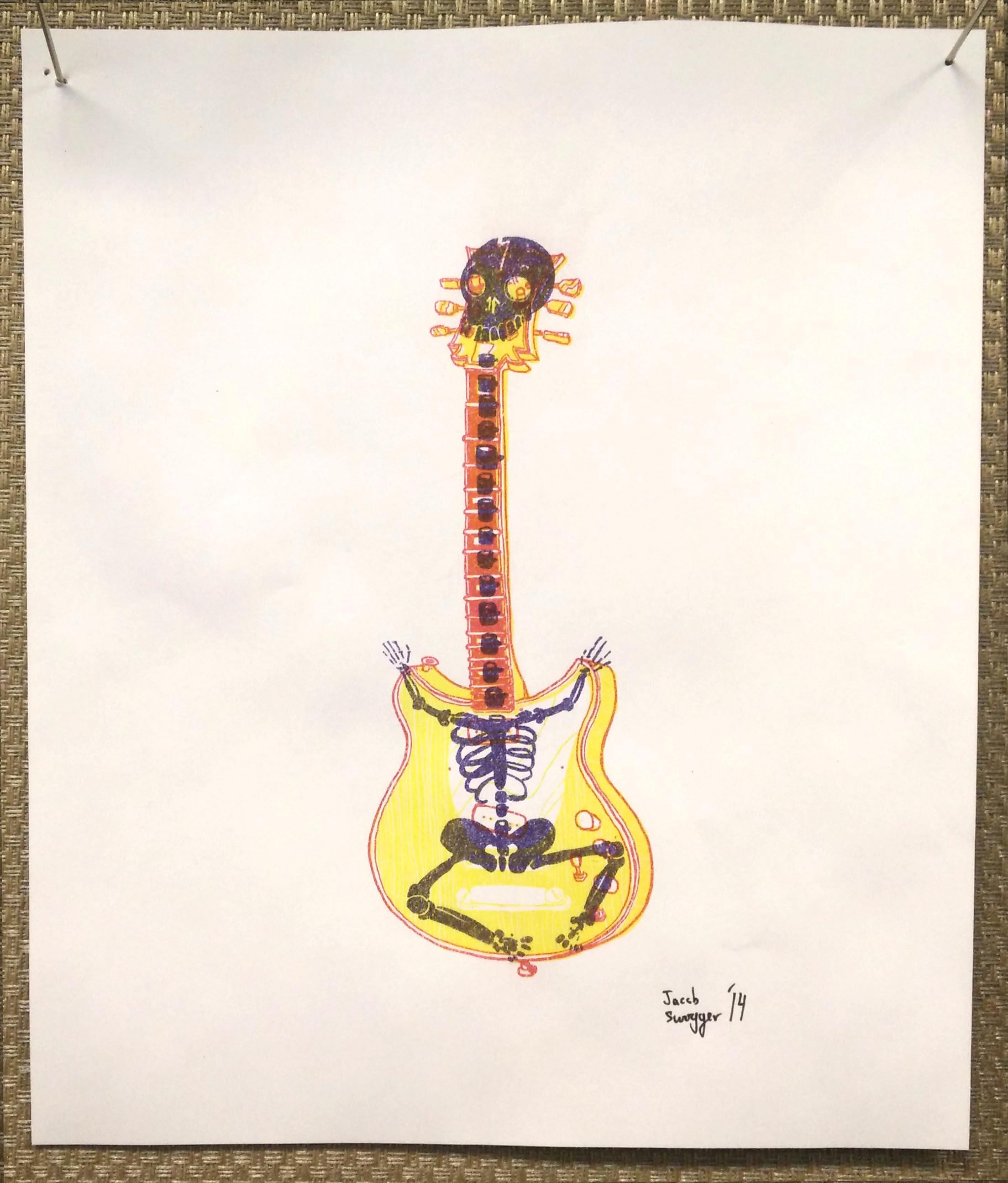 Guitar Skeleton
