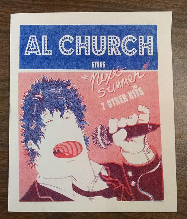 Al Church Next Summer Album Zine