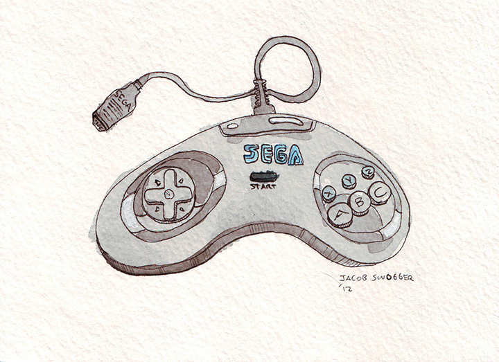 Sega Six Button Controller 1