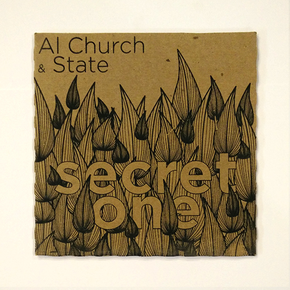 Al Church & State - Secret One album art