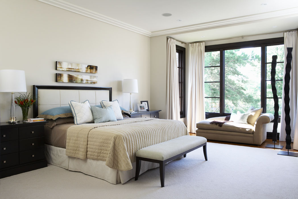 Country Urban Master Bedroom