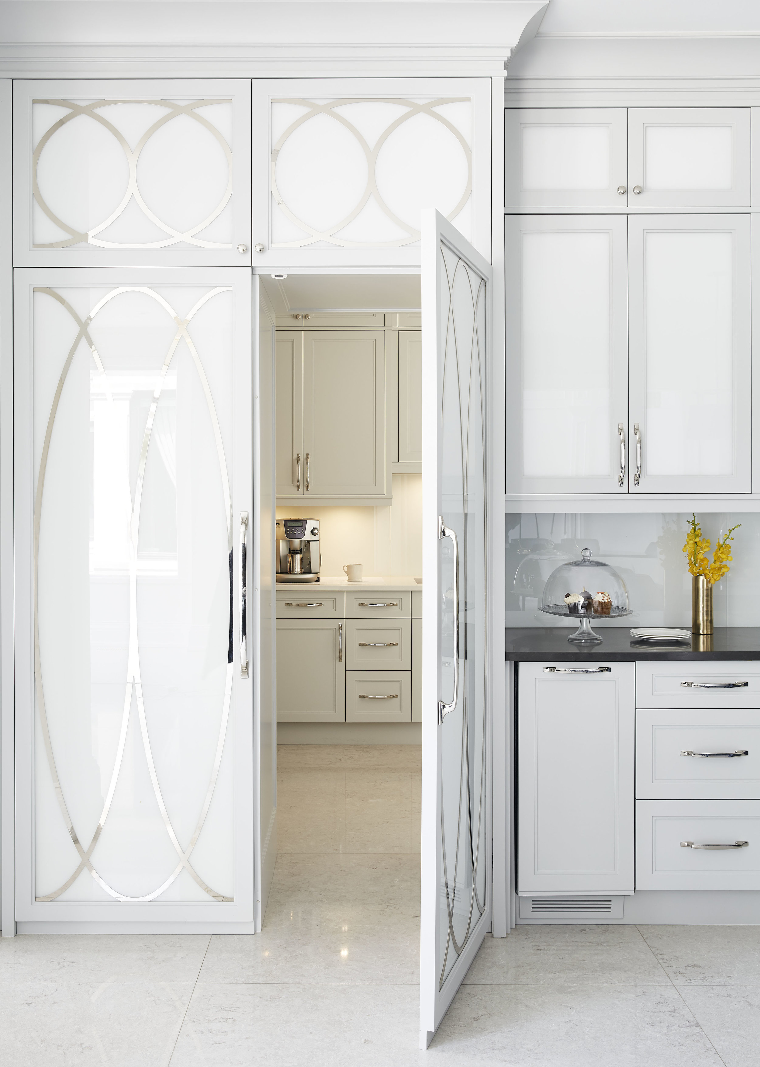 Lake View Home Kitchen Butlers Pantry