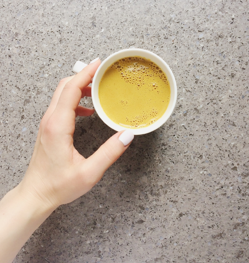 Golden TUrmeric Latte