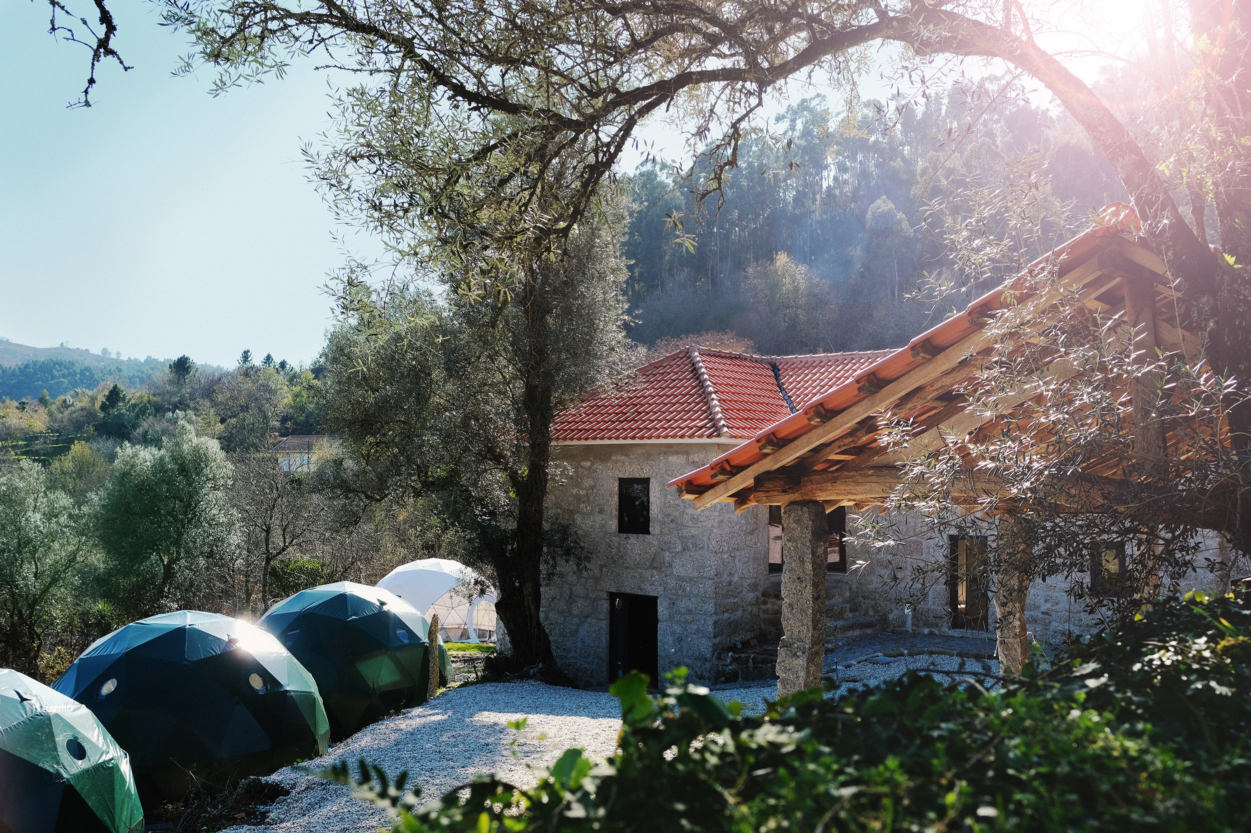 Be part of the first Wunder Retreat. - We are so excited to announce our first Wunder Retreat in collaboration with Wunder's nutritional expert Chantal Di Donato at her beautiful new Eco Dharma Village in Northern Portugal from October 4th to 7th 2019.