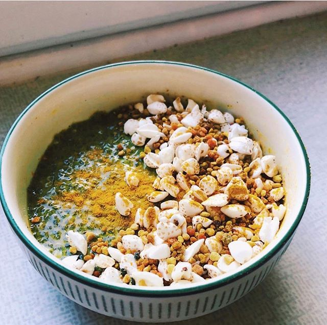 A golden bowl for breakfast - Chia pudding via @bloomingsoup for a delightfully nourishing breakfast. Show us how you get Golden every single day - fortifying the body, enhancing immunity, counteracting inflammation and bringing wellness into every corner of your life. #SuperRoots